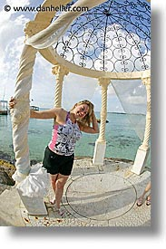 bahamas, capital, capital city, caribbean, cities, fisheye, fisheye lens, gazeebo, island-nation, islands, jim lisa, lisa, nassau, nation, resort, royal bahamian, sandals, tropics, vacation, vertical, wedding, photograph