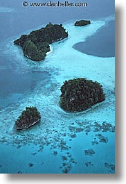 four, isles, palau, rock islands, tropics, vertical, photograph