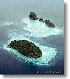 isles, palau, rock islands, tropics, twins, vertical, photograph