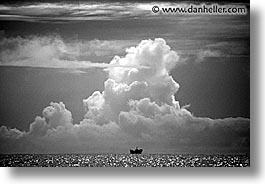 black and white, horizontal, palau, passing, scenics, ships, tropics, photograph