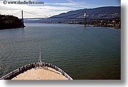 alaska, america, bridge, crowds, cruise ships, deck, horizontal, north america, people, united states, photograph