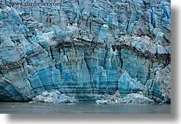 alaska, america, close, glaciers, horizontal, north america, united states, photograph