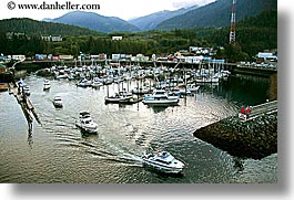 alaska, america, boats, harbor, horizontal, ketchikan, north america, united states, photograph