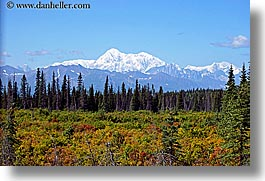 alaska, america, horizontal, mckinley, mountains, north america, united states, photograph