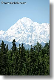 alaska, america, mckinley, mountains, north america, united states, vertical, photograph