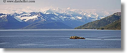 alaska, america, horizontal, mountains, north america, panoramic, united states, photograph