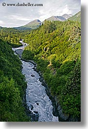 alaska, america, north america, raging, rivers, united states, vertical, whitewaters, photograph