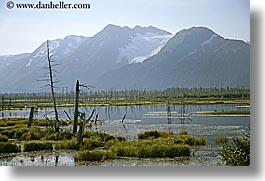 alaska, america, horizontal, mountains, north america, rivers, united states, photograph