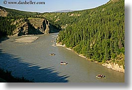 alaska, america, horizontal, north america, rafters, rivers, united states, photograph
