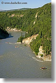 alaska, america, north america, rafters, rivers, united states, vertical, photograph