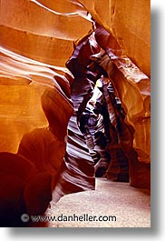 america, antelope canyon, arizona, canyons, caves, desert southwest, narrow, north america, rocks, sandstone, united states, vertical, western usa, photograph
