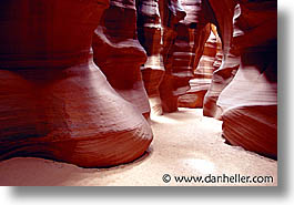 america, antelope canyon, arizona, canyons, caves, desert southwest, horizontal, narrow, north america, rocks, sandstone, united states, western usa, photograph