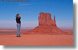 america, arizona, buttes, cameras, dans, desert southwest, horizontal, monument valley, north america, photographers, shooting, united states, western usa, photograph