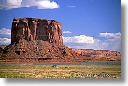 america, arizona, desert southwest, horizontal, houses, monument, monument valley, north america, united states, western usa, photograph