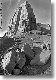 america, arizona, black and white, desert southwest, monument, monument valley, north america, united states, valley, vertical, western usa, photograph