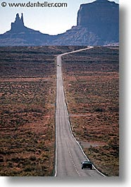 america, arizona, desert southwest, monument, monument valley, north america, roads, united states, valley, vertical, western usa, photograph