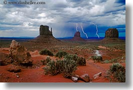 america, arizona, desert southwest, horizontal, monument, monument valley, north america, strike, united states, valley, western usa, photograph