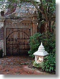 america, animal kingdom, disney, doors, florida, lamps, north america, orlando, united states, vertical, photograph