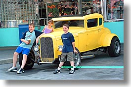 america, cars, childrens, florida, horizontal, north america, old, orlando, united states, universal, photograph