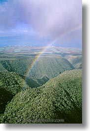 america, hawaii, north america, rainbow, united states, vertical, photograph
