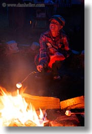 activities, america, campfire, fire, idaho, jills, marshmellows, north america, red horse mountain ranch, roasting, united states, vertical, photograph