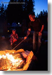 activities, america, campfire, childrens, fire, idaho, marshmellows, north america, red horse mountain ranch, roasting, united states, vertical, photograph