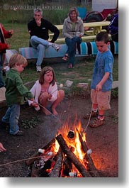 activities, america, boys, campfire, childrens, fire, girls, idaho, marshmellows, north america, people, red horse mountain ranch, roasting, united states, vertical, photograph