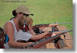activities, america, boys, childrens, guns, horizontal, idaho, jacks, north america, people, red horse mountain ranch, rifle, riflery, shooting, united states, photograph