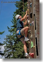 activities, america, climbing, idaho, north america, red horse mountain ranch, united states, vertical, wall climb, walls, photograph
