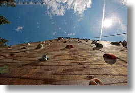 activities, america, climbing, horizontal, idaho, north america, perspective, red horse mountain ranch, united states, upview, wall climb, walls, photograph