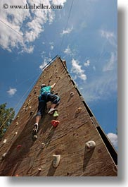 activities, america, climbing, idaho, north america, perspective, red horse mountain ranch, united states, upview, vertical, wall climb, walls, photograph