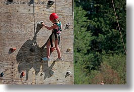 activities, america, climbing, horizontal, idaho, north america, red horse mountain ranch, united states, wall climb, walls, photograph