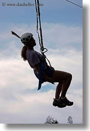 activities, america, clothes, hats, helmets, idaho, jills, north america, red horse mountain ranch, united states, vertical, zip line, zipline, photograph