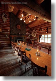 america, dining, idaho, north america, red horse mountain ranch, rooms, united states, vertical, photograph