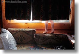 america, behind, curtains, feet, horizontal, idaho, north america, red horse mountain ranch, united states, photograph
