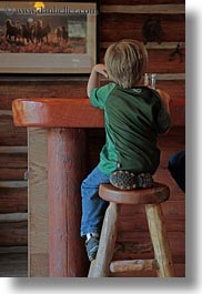america, bars, idaho, jack jill, jacks, north america, people, red horse mountain ranch, stools, united states, vertical, photograph