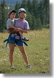 america, carrying, clothes, hats, helmets, idaho, jack jill, jacks, jills, north america, people, red horse mountain ranch, united states, vertical, photograph