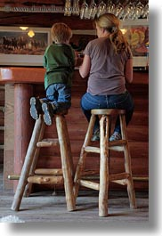 america, bars, idaho, jack and jill, jack jill, north america, people, red horse mountain ranch, stools, united states, vertical, photograph