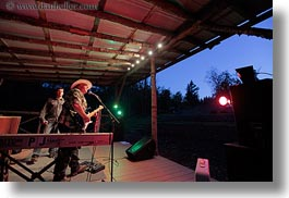 america, horizontal, idaho, north america, people, red horse mountain ranch, singers, stage, united states, photograph