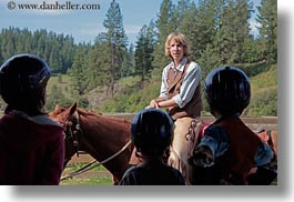 america, horizontal, horses, idaho, marty, men, north america, people, red horse mountain ranch, staff, tour guides, united states, photograph