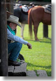 america, idaho, north america, people, red horse mountain ranch, sarge, staff, united states, vertical, photograph