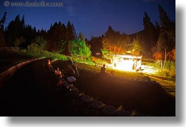 america, fisheye lens, horizontal, idaho, long exposure, nite, north america, red horse mountain ranch, scenics, stage, united states, photograph