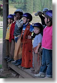 america, childrens, idaho, north america, red horse mountain ranch, stables, united states, vertical, photograph