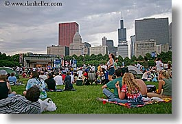 america, blues, blues festival, chicago, crowds, festival, horizontal, illinois, north america, united states, photograph