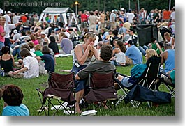 america, blues, blues festival, chicago, couples, crowds, festival, horizontal, illinois, north america, people, united states, photograph