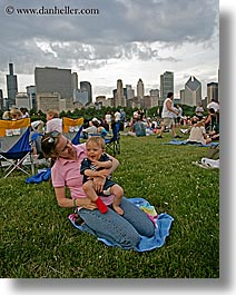 america, babies, blues festival, chicago, cityscapes, illinois, jack and jill, north america, united states, vertical, photograph