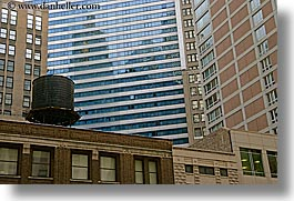 america, buildings, chicago, close ups, horizontal, illinois, montage, north america, united states, photograph