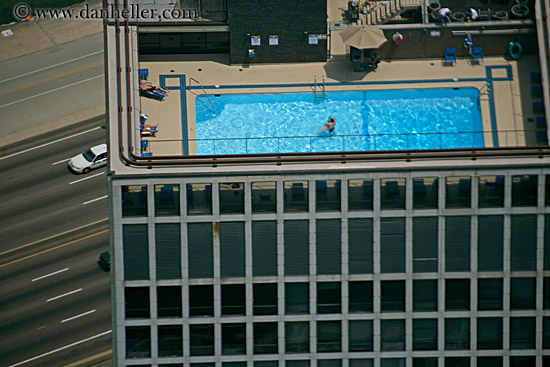 Pool On Top Of Building : Building top pool