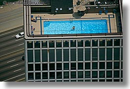 america, buildings, chicago, couples, horizontal, illinois, north america, pools, swimming pool, tops, united states, water, photograph