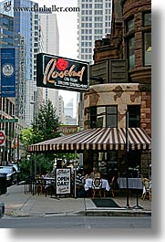 america, buildings, chicago, illinois, north america, pizza, restaurants, rosebud, united states, vertical, photograph